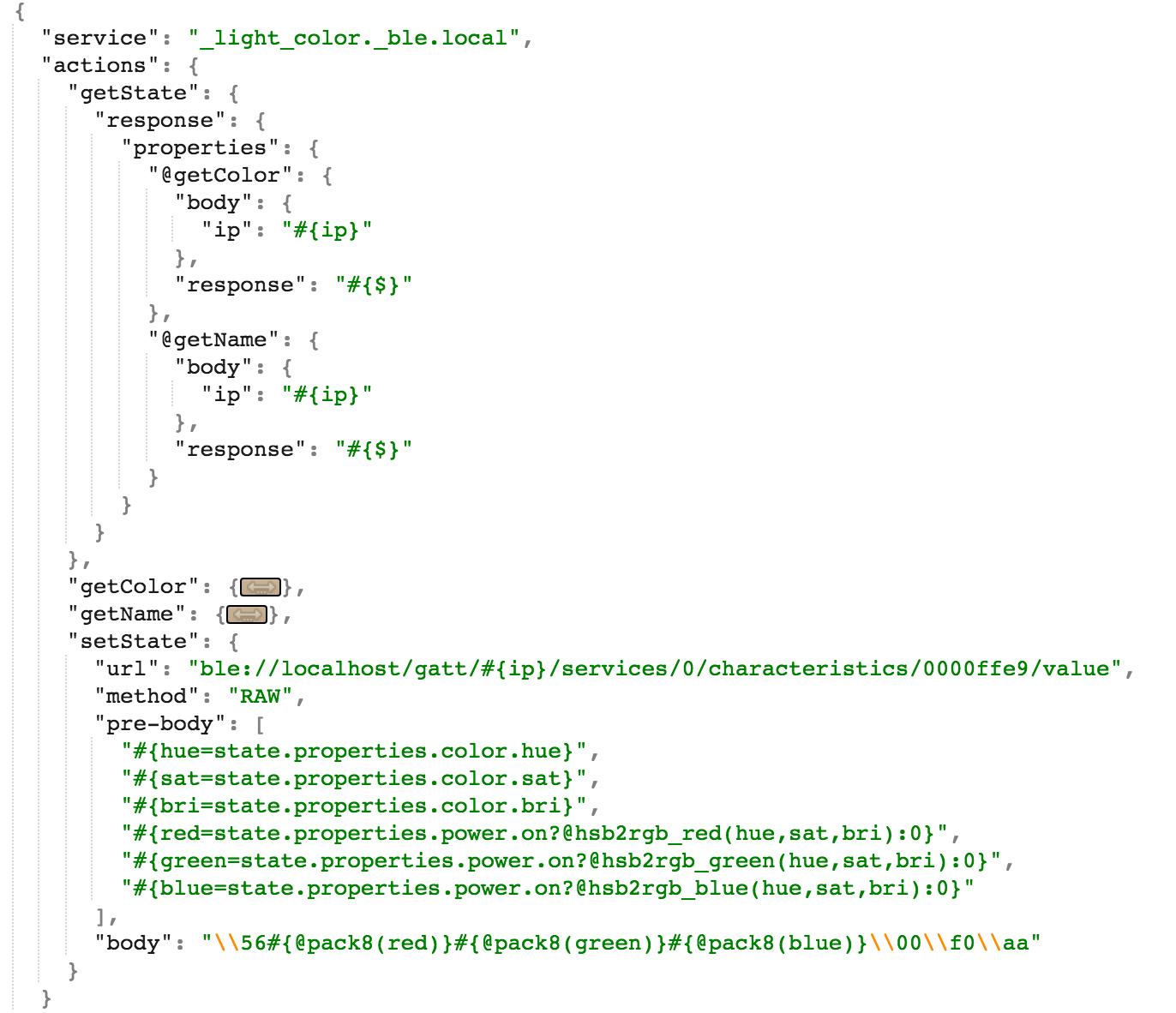 Binding Script Example